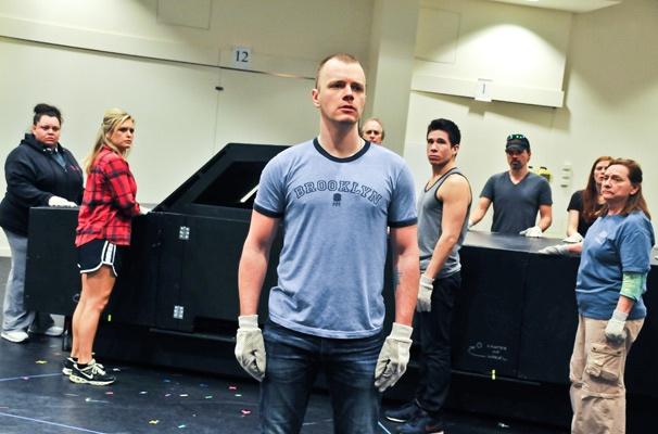 Hands on a Hardbody – Rehearsal – David Larsen