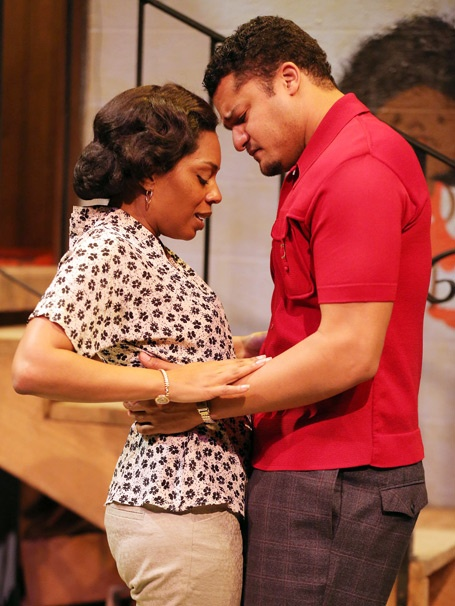 Show Photos - Detroit '67 - Michelle Wilson - Brandon J. Dirden