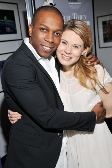 Our Town reading – Leslie Odom Jr. – Celia Keenan-Bolger