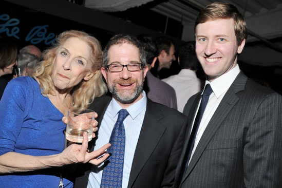 The Old Boy opening night  Laura Esterman  Jonathan Silverstein  - Cary Donaldson
