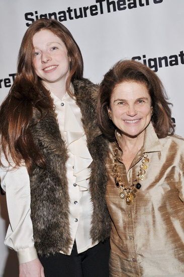 The Mound Builders – Opening Night – daughter Amanda - Tovah Feldshuh