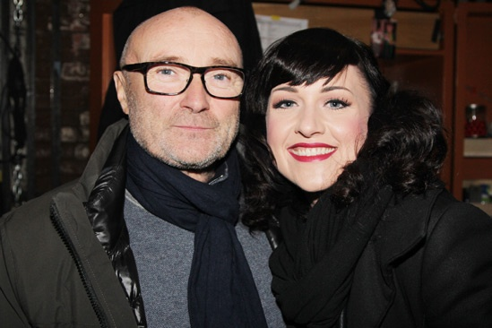 Phil Collins at 'Kinky Boots' — Phil Collins — Celina Carvajal