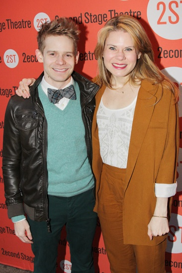 The Last Five Years – Opening Night – Andrew Keenan-Bolger – Celia Keenan-Bolger