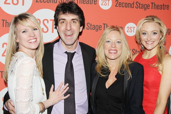 The Last Five Years – Opening Night – Lauren Kennedy – Jason Robert Brown – Sherie Rene Scott - Betsy Wolfe