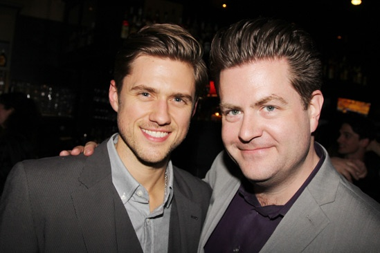 The Last Five Years – Opening Night – Aaron Tveit – Paul Wontorek