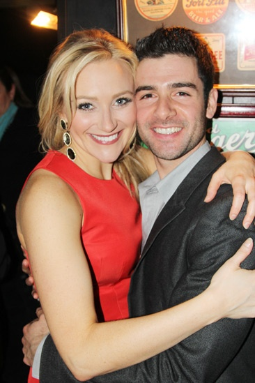 The Last Five Years – Opening Night – Betsy Wolfe – Adam Kantor
