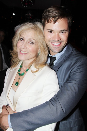 The Assembled Parties – Opening Night – Judith Light – Andrew Rannells