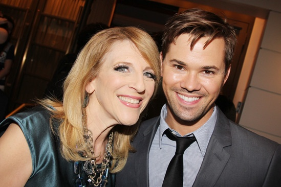 The Assembled Parties – Opening Night – Lisa Lampanelli – Andrew Rannells