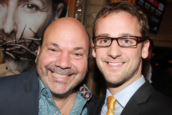 'Testament of Mary' Opening Night — Casey Nicholaw — Josh Marquette