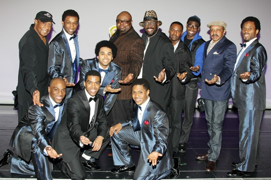 Brandy at 'Motown' — Temptations