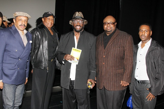 Brandy at 'Motown' — Ron Tyson — Joe Herndon — Otis Williams — Bruce Williamson — Terry Weeks