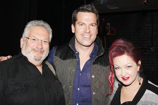 Celebs at Kinky Boots — Harvey Fierstein — Thomas Roberts — Cyndi Lauper