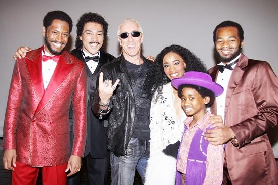 Dee Snider at 'Motown' — Bryan Terrell Clark — Charl Brown — Dee Snider — Valisia LeKae — Raymond Luke Jr — Brandon Victor Dixon