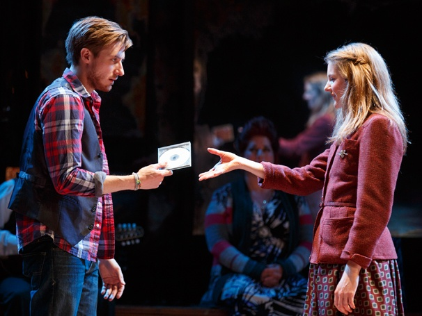 Arthur Darvill and Joanne Christie in &#39;Once&#39;: Show Photos  Arthur Darvill Joanne Christie