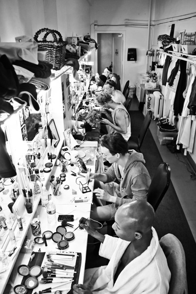 Kinky Boots Backstage- Kevin Smith Kirkwood- Charlie Sutton- Kyle Post- Stephen Carrasco- Kyle Taylor Parker- Paul Canaan