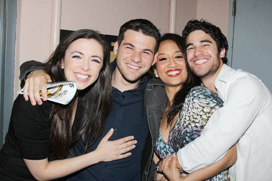 Annie Jane Lynch Opening- Desi Oakley- Etai BenShlomo- Ashley Blanchet- Darren Criss