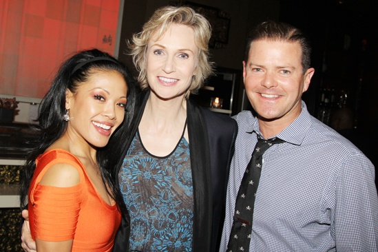 Annie Jane Lynch Opening- J. Elaine Marcos- Jane Lynch – Clarke Thorell