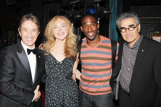 Pippin – Martin Short Backstage Visit – Martin Short – Rachel Bay Jones – Anthony Wayne – Eugene Levy