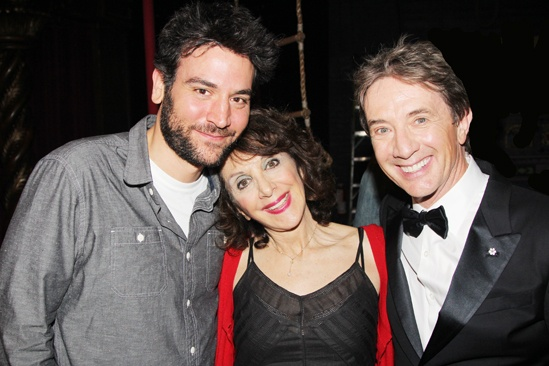 Pippin – Martin Short Backstage Visit – Josh Radnor – Andrea Martin – Martin Short