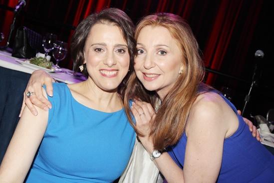 2013 Drama League Awards Luncheon — Judy Kuhn — Donna Murphy