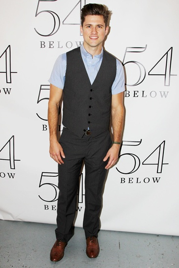 'Graceland' Cast and Aaron Tveit at 54 Below — Aaron Tveit