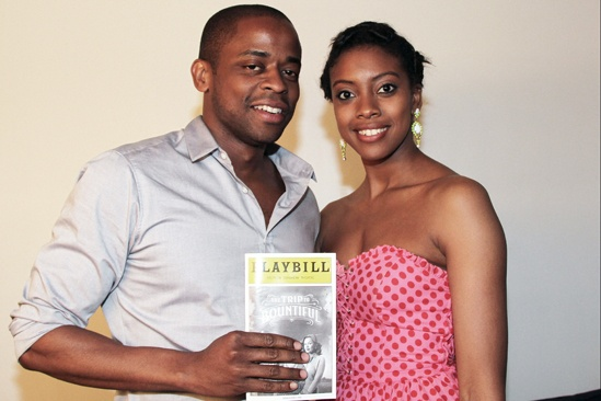 The Trip to Bountiful – Celebrity Visits – Dule Hill – Condola Rashad