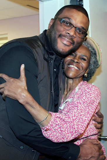 The Trip to Bountiful – Celebrity Visits - Tyler Perry – Cicely Tyson