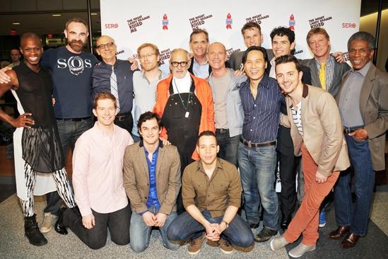 The Night Larry Kramer Kissed Me- Tom Viola- Sean Strub- David Drake-Larry Kramer- Robert La Fosse- Cast