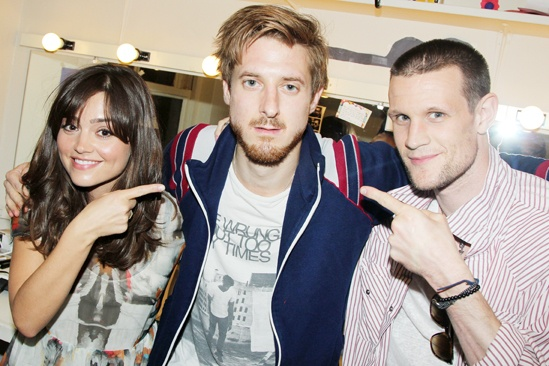 'Doctor Who' Stars at 'Once' — Jenna-Louise Coleman — Arthur Darvill — Matt Smith
