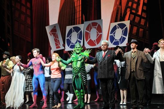 Spider-Man - 1000th Performance - Full Cast