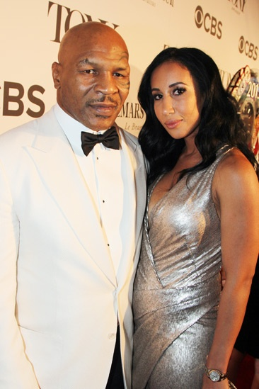 Tony Red Carpet- Mike Tyson- Lakiha Spicer