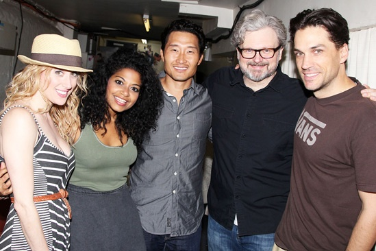 Murder Ballad – Glass Menagerie Cast Visit – Caissie Levy – Rebecca Naomi Jones – Daniel Dae Kim – John Ellison Conlee – Will Swenson