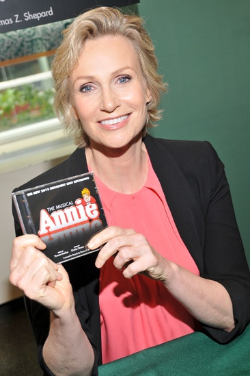 Annie-  CD Signing- Jane Lynch