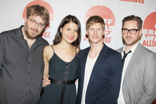 Off Broadway Alliance Awards – 2013 – Dave Malloy – Phillipa Soo – Lucas Steele – Jason Eagan