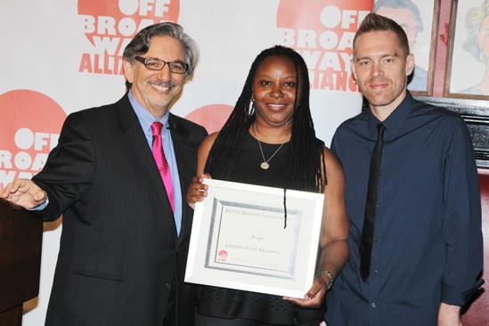 Off Broadway Alliance Awards – 2013 – Peter Breger – Jason Mills – Leona Wilkes