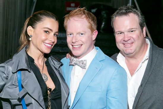 'The Comedy of Errors' Opening in Central Park — Sofia Vergara — Jesse Tyler Ferguson — Eric Stonestreet