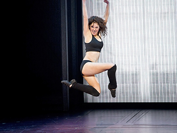 Show Photos - Flashdance - tour - Jillian Mueller