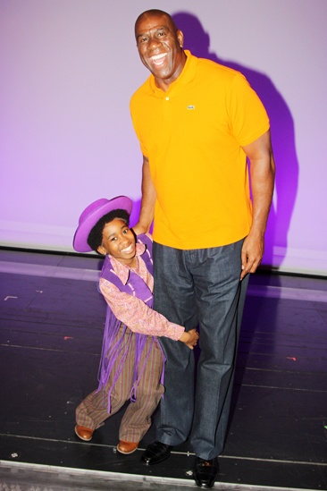 Magic Johnson at Motown — Raymond Luke Jr. — Magic Johnson