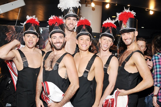 Broadway Bares 2013 — Dancers
