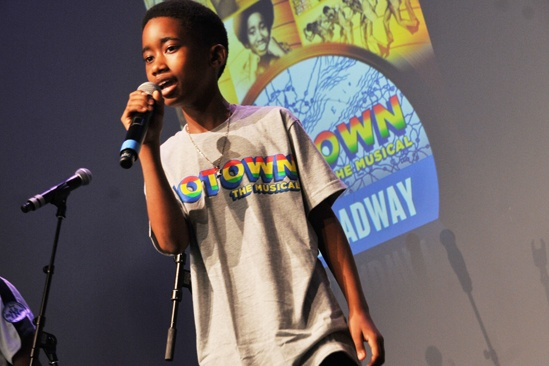 'Motown' at SoHo Apple Store— Raymond Luke Jr.