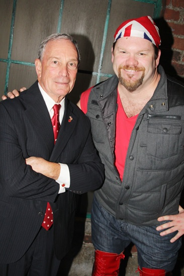 Kinky Boots- Mayor Mike Bloomberg- Daniel Stewart Sherman