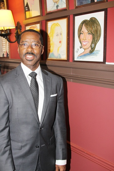 Courtney B. Vance at Sardi's — Courtney B. Vance