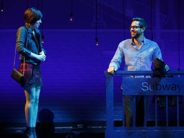 'First Date' Show Photos — Krysta Rodriguez — Zachary Levi
