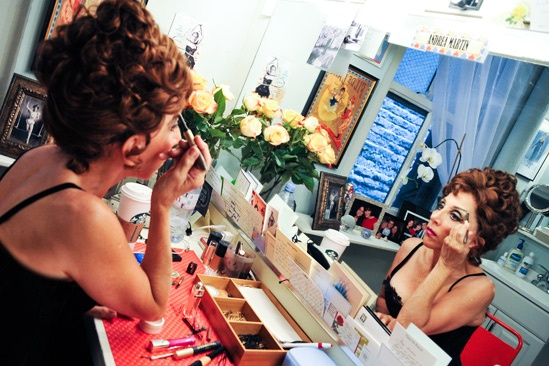Pippin – Backstage Photos – Andrea Martin