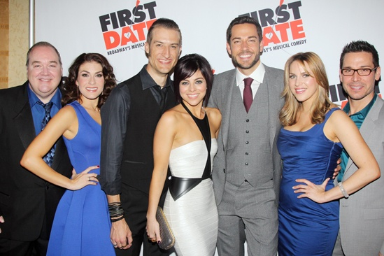 'First Date' Opening — Blake Hammond — Kate Loprest — Bryce Ryness — Krysta Rodriguez — Zachary Levi — Sara Chase — Kristoffer Cusick
