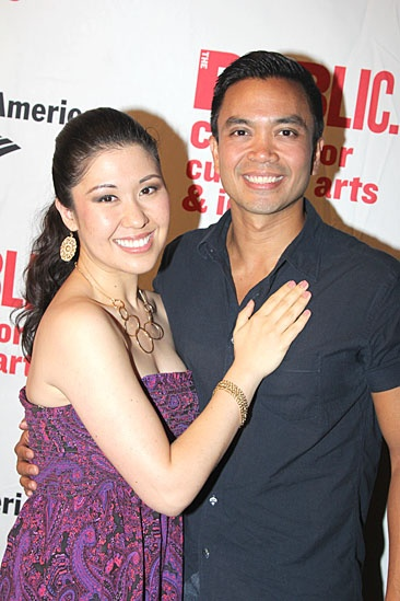 'Love's Labour's Lost' Opening — Ruthie Ann Miles — Jose Llana