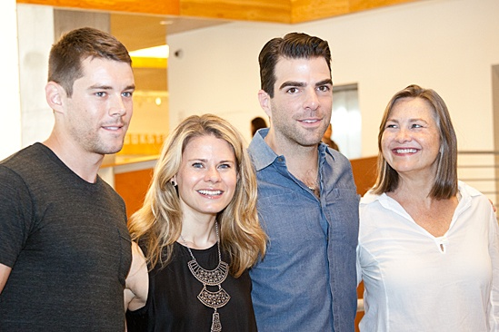 The Glass Menagerie – Meet and Greet – Brian J. Smith – Celia Keenan-Bolger – Zachary Quinto – Cherry Jones