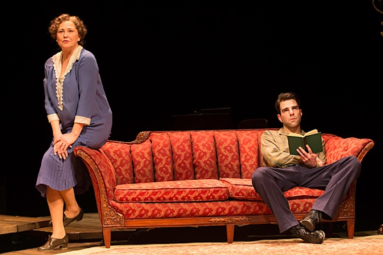 'The Glass Menagerie' Show Photos — Cherry Jones — Zachary Quinto