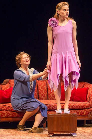 'The Glass Menagerie' Show Photos — Cherry Jones — Celia Keenan-Bolger