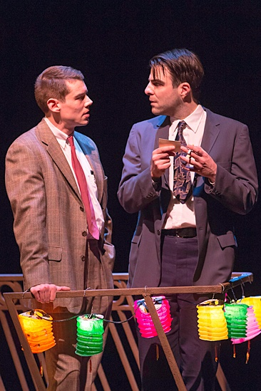 'The Glass Menagerie' Show Photos — Brian J. Smith — Zachary Quinto